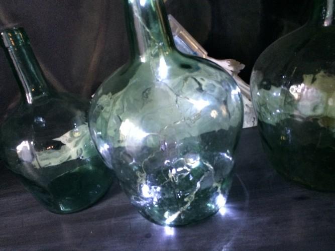 Bonbonne en verre taille moyenne